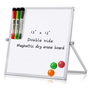 Hot 360 Degree Desktop Custom Small Dry Erase Board Folding Magnetic Whiteboard Kids School Buy White Board