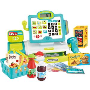 Five Star 35578B Multi-functional kids cash register toys supermarket cashier pretend play set toys BSCI