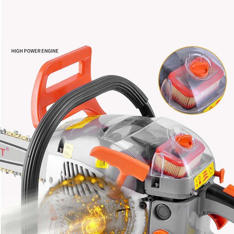 Professional 62CC Heavy duty powerful petrol chainsaw