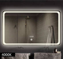 Backlit Lighted LED Bathroom Mirror Waterproof IP44 rating Vanity frameless Glass Mirror with Light