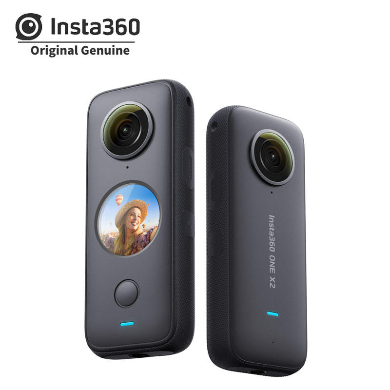 Original Brand Insta360 Waterproof Sports FlowState Action Camera ONE X2 Insta