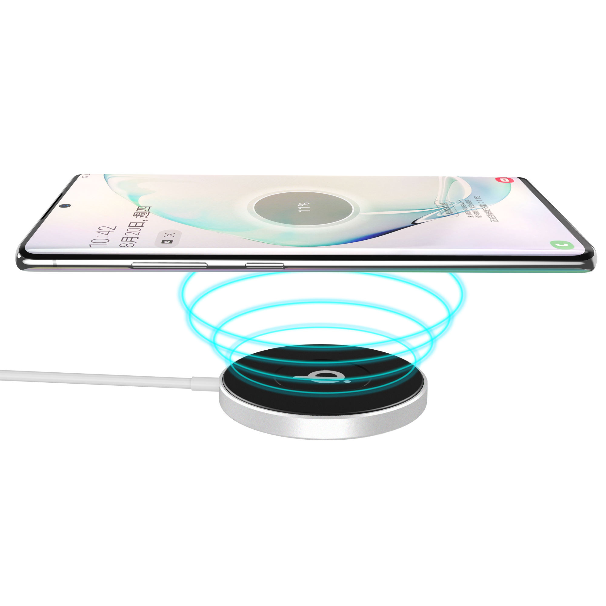Universal Portabel <span class=keywords><strong>Nirkabel</strong></span> Mobile Phone Charger 15W Magnetik <span class=keywords><strong>Nirkabel</strong></span> Cepat Charger Pengisian Pad QI Wireless Charger