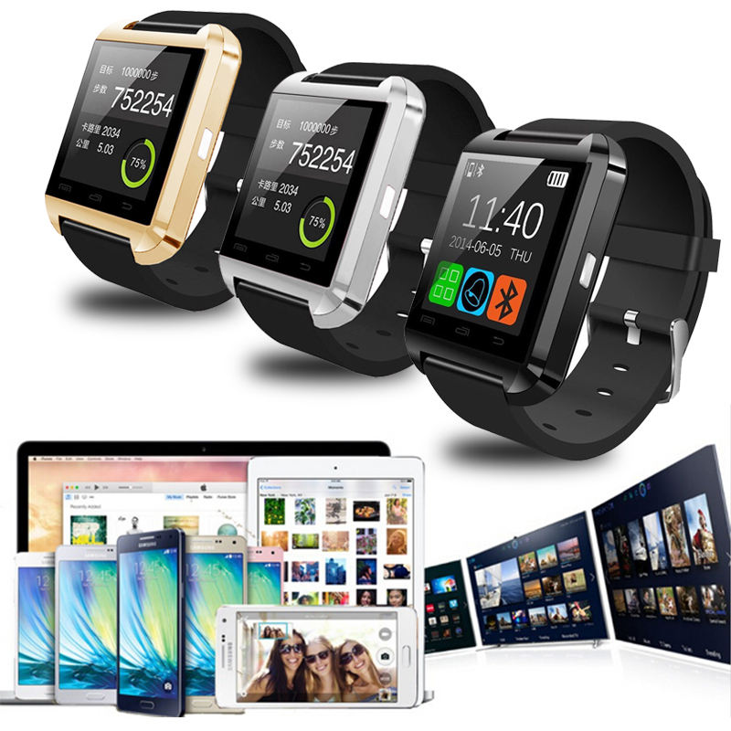 Packaging Customization [ Smartphone ] Smartwatch U8 Smart Watch Smartphone Smartwatch Sim Card For IPhone Android Smartwatch Smartwatch Android