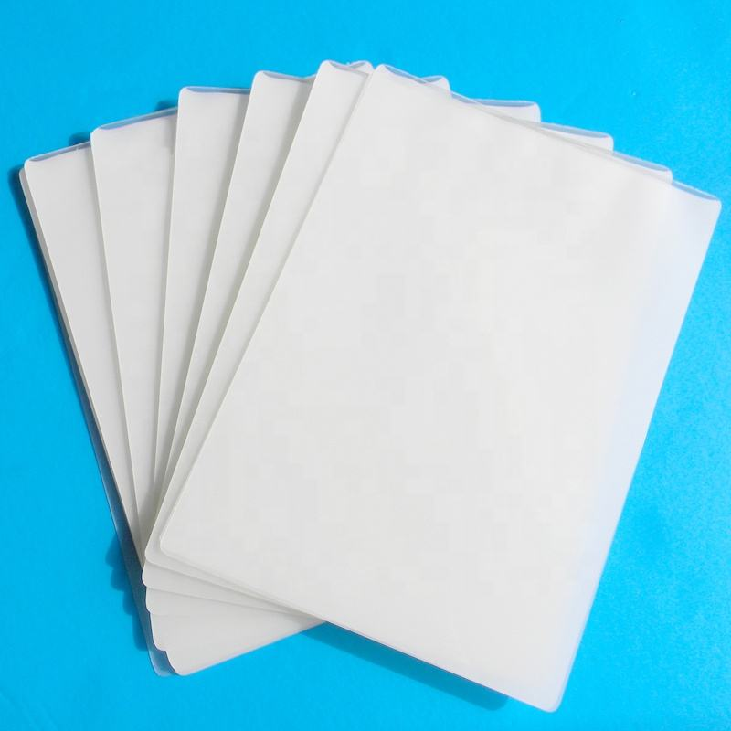 Thermal Glossy Laminating Pouch Film A4(216*303), 100mic, 100pcs, 10Box/CTN, Used For Laminator Machine