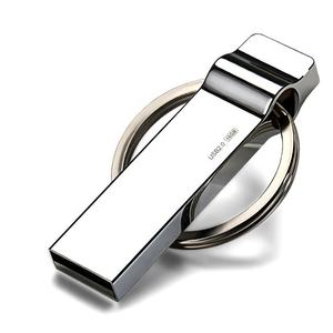 Anel chave do presente do logotipo Livre 16gb de metal usb flash drive usb 3.0 pen drive usb stick pendrive Memory Stick