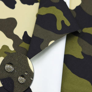 100% Nylon Camouflage Laminated With PTFE Membrane Waterproof Breathable For Military Fabric