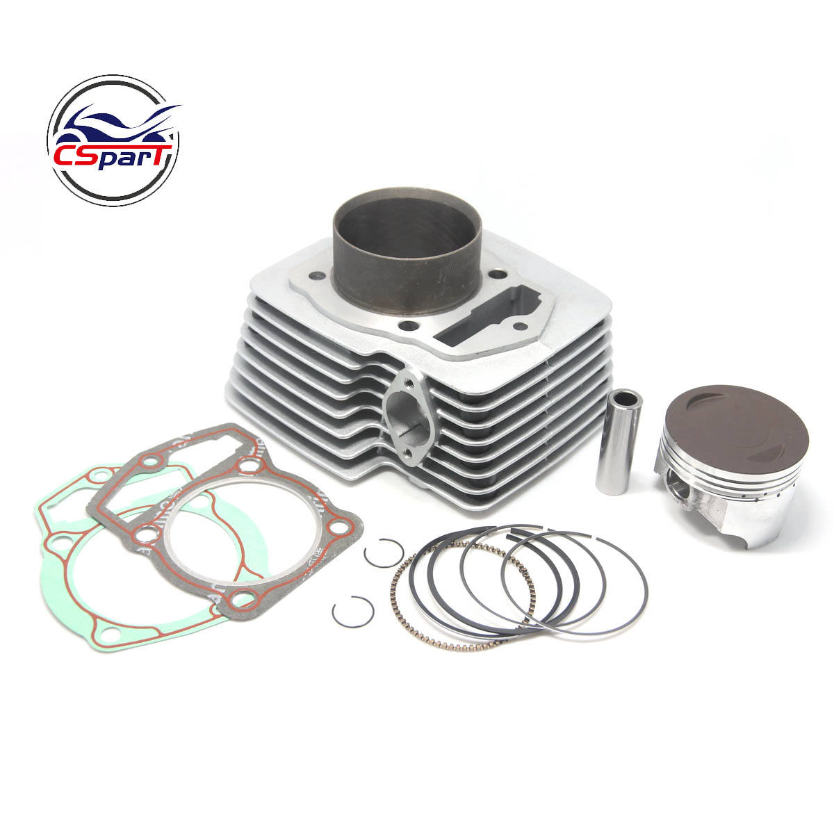 69MM Cylinder kit 17MM Pin for Loncin ZongShen CB250 250CC 169FMM Engine Shineray Kaya Xmotos Apollo Tmax Pit Dirt Bike Parts
