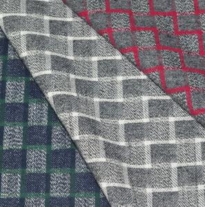cotton yarn dyed flannel checks shirting fabric