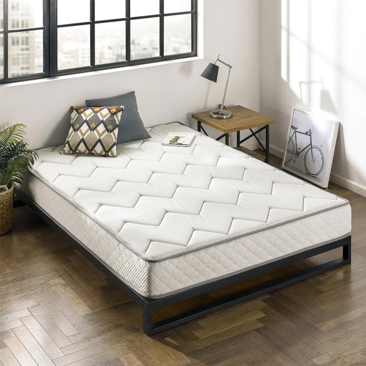jacquard fabric tight top memory cool gel foam mattress with bonnell spring bed mattress cheap Bedroom Furniture Mattressess