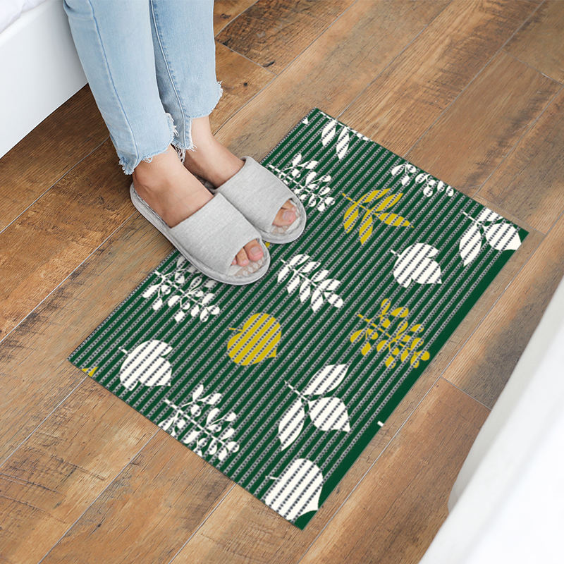 pvc foam anti-slip mat blue bathroom rugs non slip bath mat