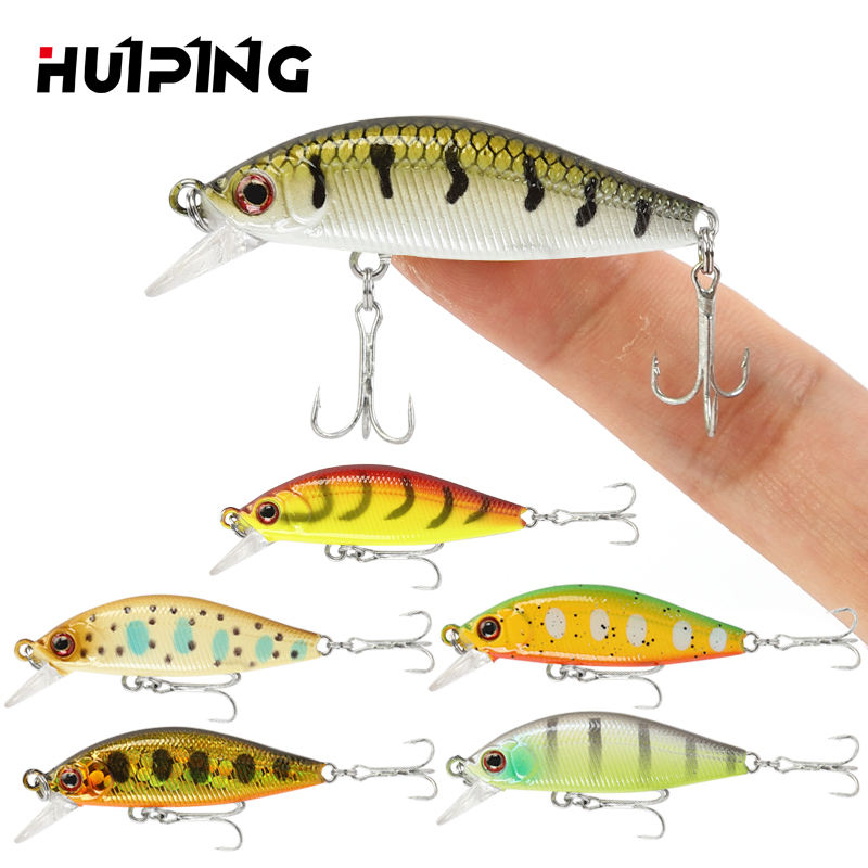 Lures Fishing 3.1g 45mm Sinking Minnow Lure Hard Bait Trout Pesca M360