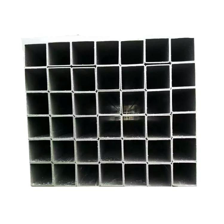 China factory cheap price size 2x2 Q235 galvanized square tube steel