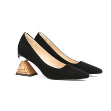 Women Summer Pumps Customize High Strange Heel Pointed Toe Slip On Dress Shoes For Girls
