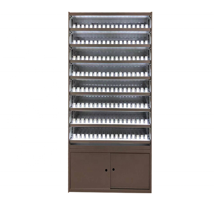 Free Design Door-type LED Cigarette Tobacco Display Cabinet