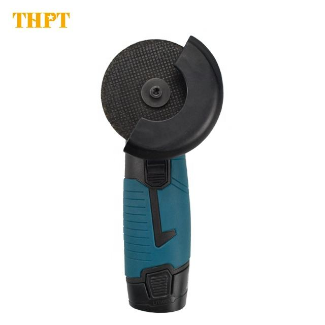 THPT household Portable 12V 75mm durable Mini Disc Wheel Cordless Electric Angle Grinder
