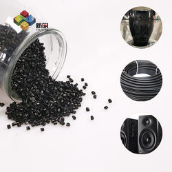 blown film grade HDPE LDPE LLDPE polyethylene particles with PP PE ABS carrier carbon black masterbatch for plastic