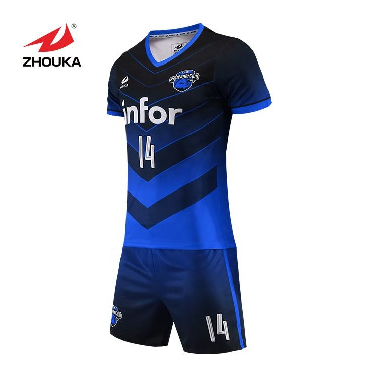 Profession Design Reversible Football Wear Design Soccer Jersey by Chinese manufacturer