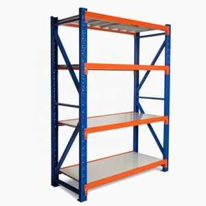 Medium duty steck regale eisen lagerung regale 4 regal lager rack