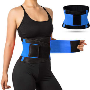 Wholesale High Quality Sweat Belt Waist Trimmer Slimming Tummy Band Weight Loss Fitness Waist Trainer Belt for Women