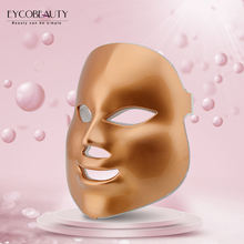 Portable Face Mask LED for Skin Care and Silicone Facial Mask Professional  Therapy LED  Facial Mask