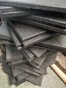 20mm EPDM fleck high density Rubber Floor Tiles for Gym Rubber mat