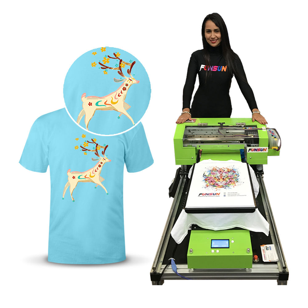 Big discount tshirt printing machine T-shirt Large Format Printing Machine Plotter Digital Textile Sublimation Inkjet Printer