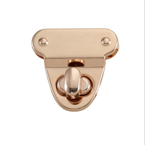 Handbags hardware accessories metal turn twist lock buckle switch latch padlock for bags accessories