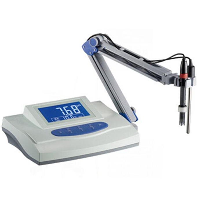 Free Shipping lab medical bench table top liquid benchtop digital ph tester meter