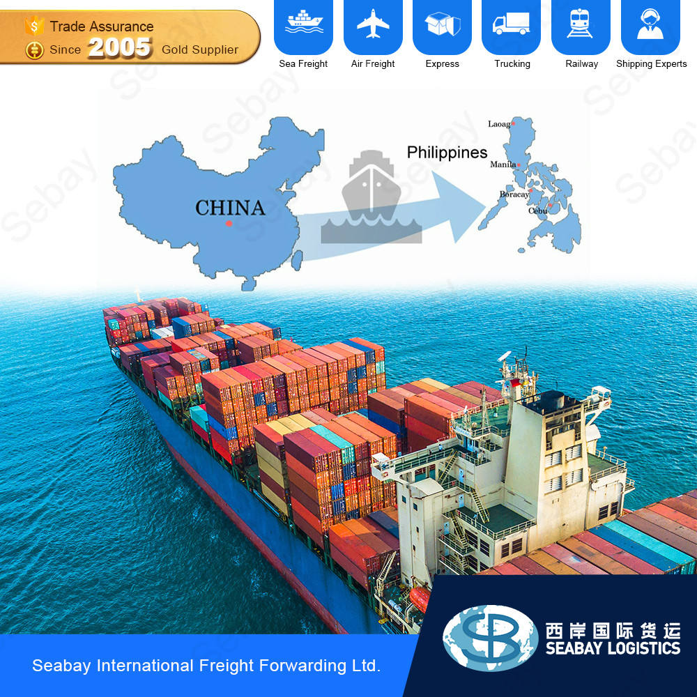 Cheapest Cargo Delivery Forwarder Sea Freight China To Philippines DDP