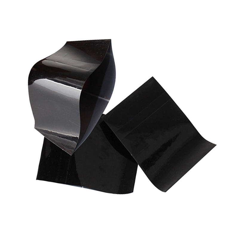 Black pe shrink film plastic heat shrinkable wrap film