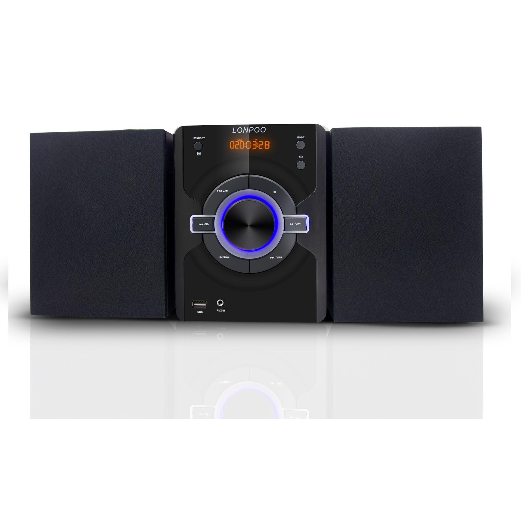 Hi-fi micro system audio con lettore <span class=keywords><strong>CD</strong></span>