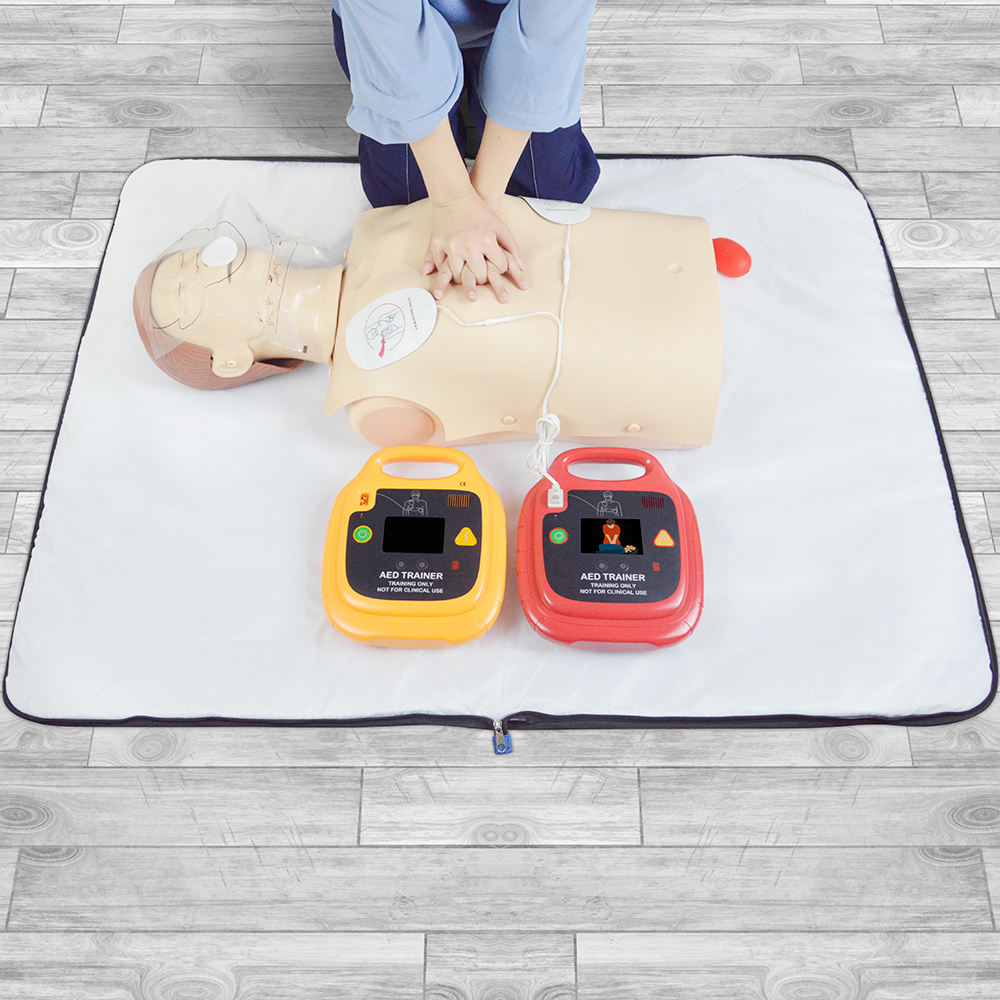 Infant <span class=keywords><strong>CPR</strong></span>-AED Training Kit Essentials AED-Trainer mit Rate Monitor <span class=keywords><strong>CPR</strong></span>-Puppe mit mittlerer Haut