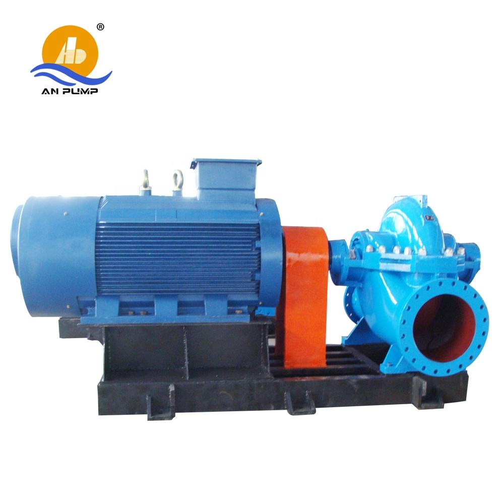 Best price big horizontal centrifugal double suction water drain pump