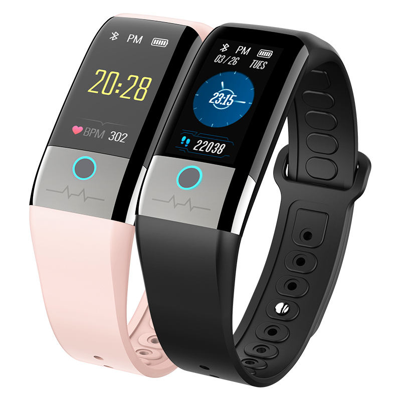 Wireless Blood Pressure Heart Rate Fitness Band Monitor Smart Bracelet