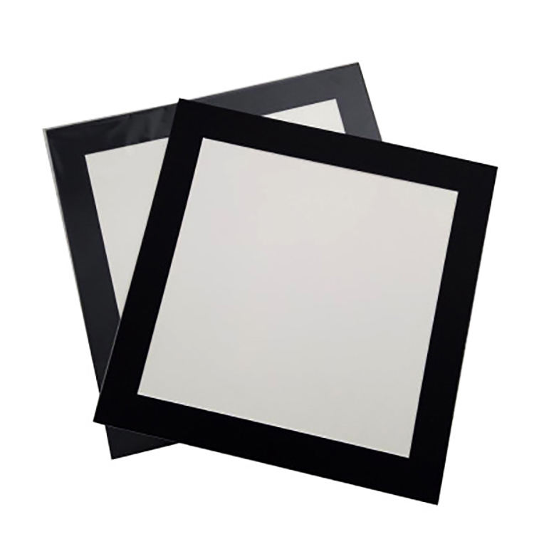 Square Framed Calligraphy Ink Painting Simple Round Card Paper-Cut Frame