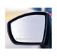 (4Pcs) VW VOLK-SWA-GE PASSAT WING MIRROR ETCHED GLASS CAR STICKER DECAL ETCH