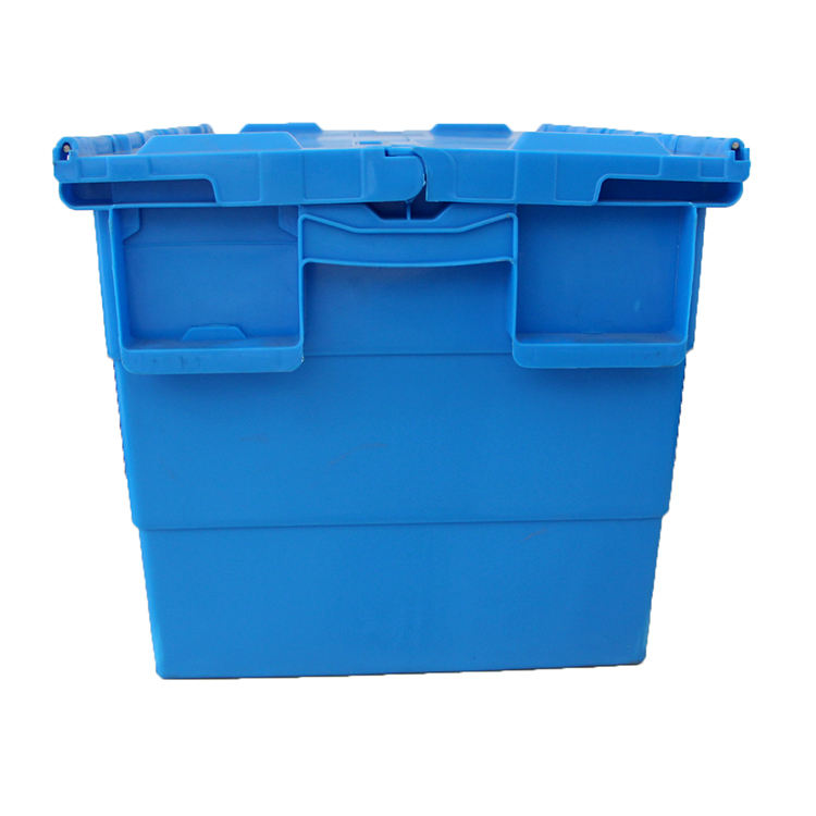 hot sale Collapsible Industry plastic fruit crates storage crate with handle