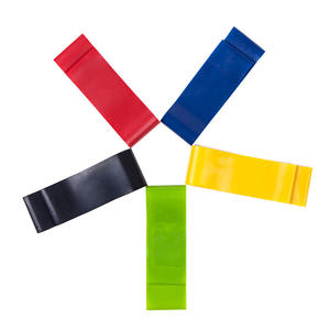 High Quality 2020 Latex Black Custom Logo Long Loop 5 Resistance Band