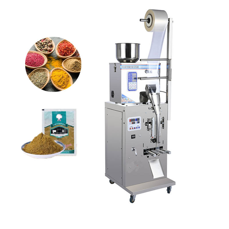 Powder Automatic Tea Coffee Bag Pouch Sachet Price And Salt 1Kg Shrink Rice Honey Milk Sugar Food 3 Packing Machine For Spices