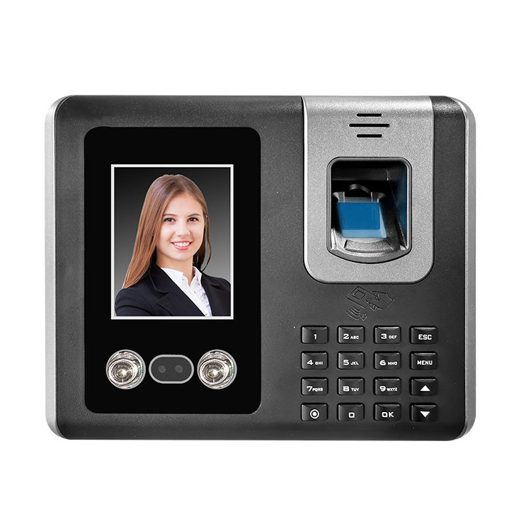 TIMMY F661 Free Software Biometric Face Recognition Time Attendance System