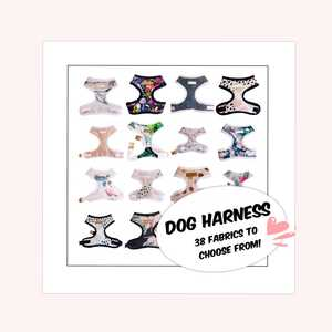 High quality pet products Dog puppy harness soft jersey  sizes XS-M
