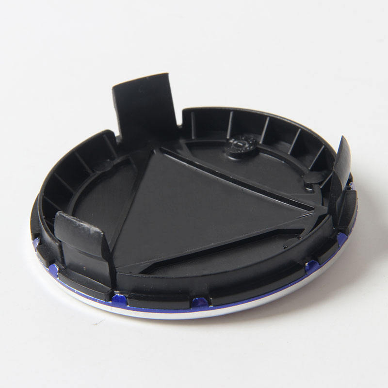 75mm 3 pin Blue Black Dark BLue Wheel center Hub Caps Cover Car Logo Emblem For Mercedes Benz A B C CLA CLS G M R