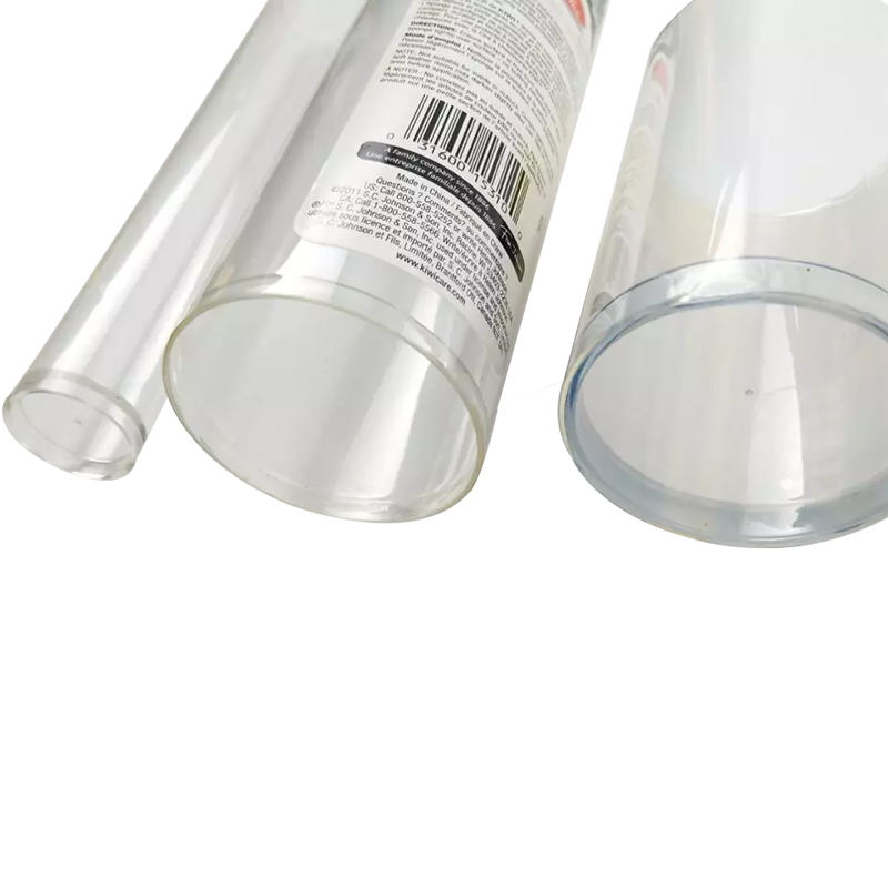 High Quality Transparent Clear Packaging Plastic Tubes With Competitive Price