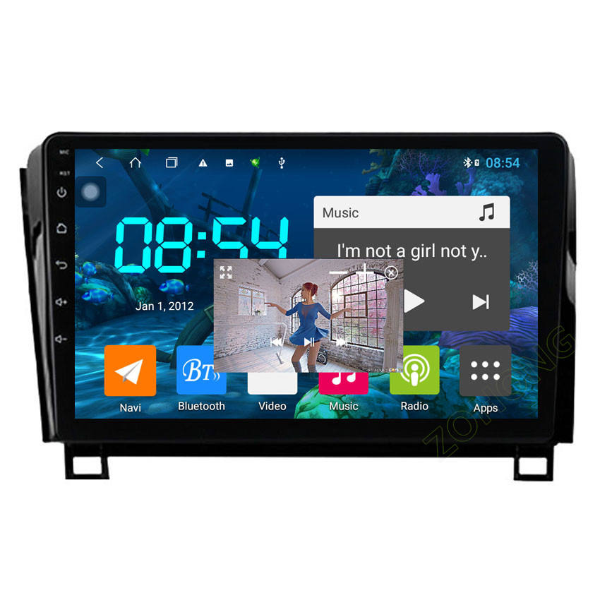 4 + 64G DSP 4G für Toyota Tundra Sequoia autoradio android Auto Multimedia-Player AUTO GPS navigation radio stereo audio DVD 2 din