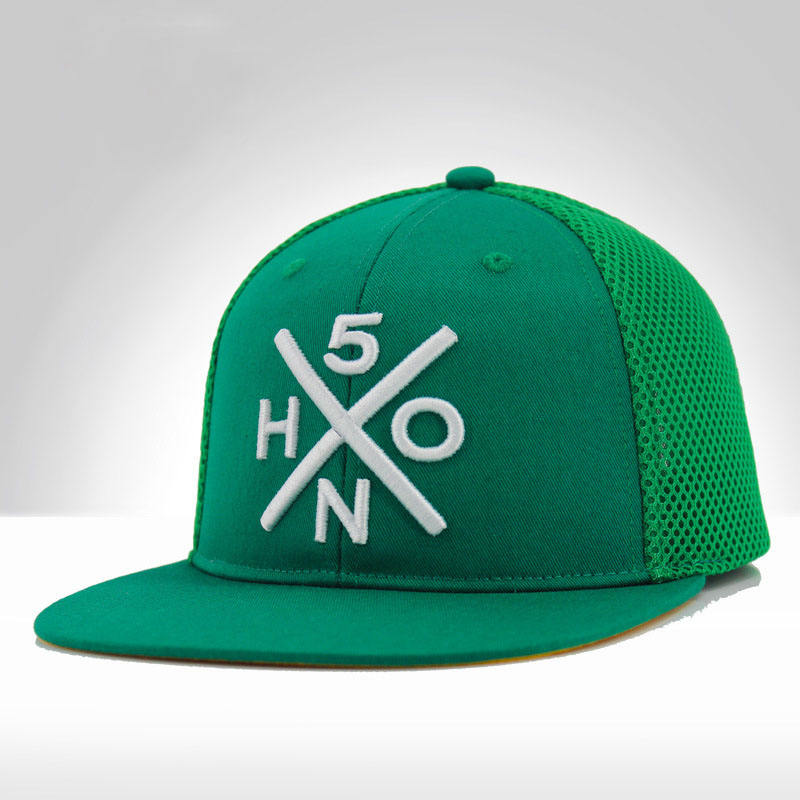6 Panel Street Hip Hop Hats Flat Brim Custom Baseball Cap Sports Caps Man