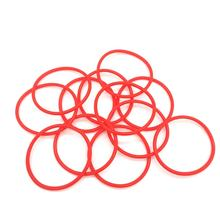 Silicon O rings custom size  silicone rubber sealing ring red color for industry eletronic