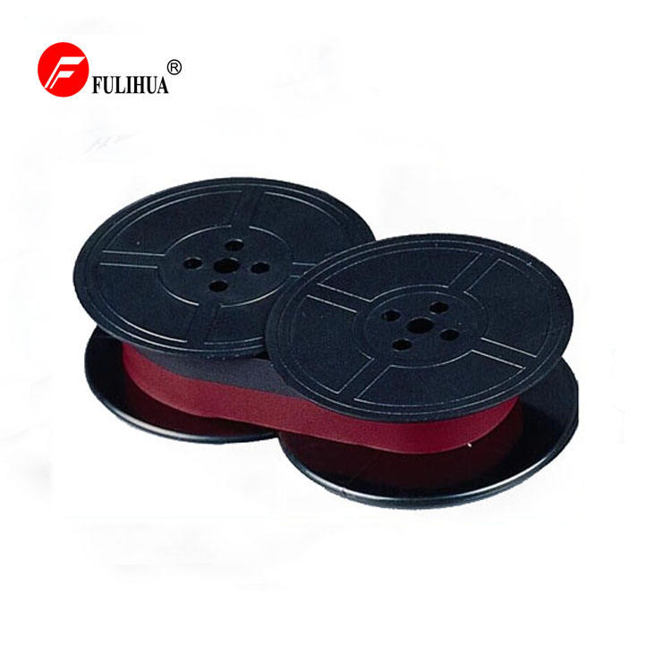 Compatible Black/Red Ink Nylon Typewriter Ribbon Spool GR9