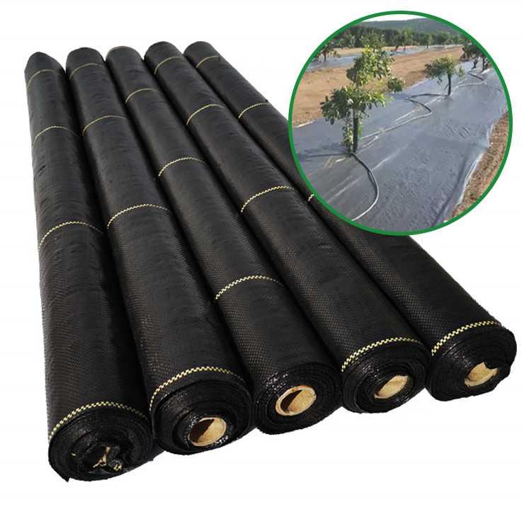 garden ground cover fabric/weed barrier mat/plastic pp anti weed agro weed control