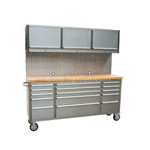 72 inch 430 anti-fingerprint stainless steel tool cabinet tool box