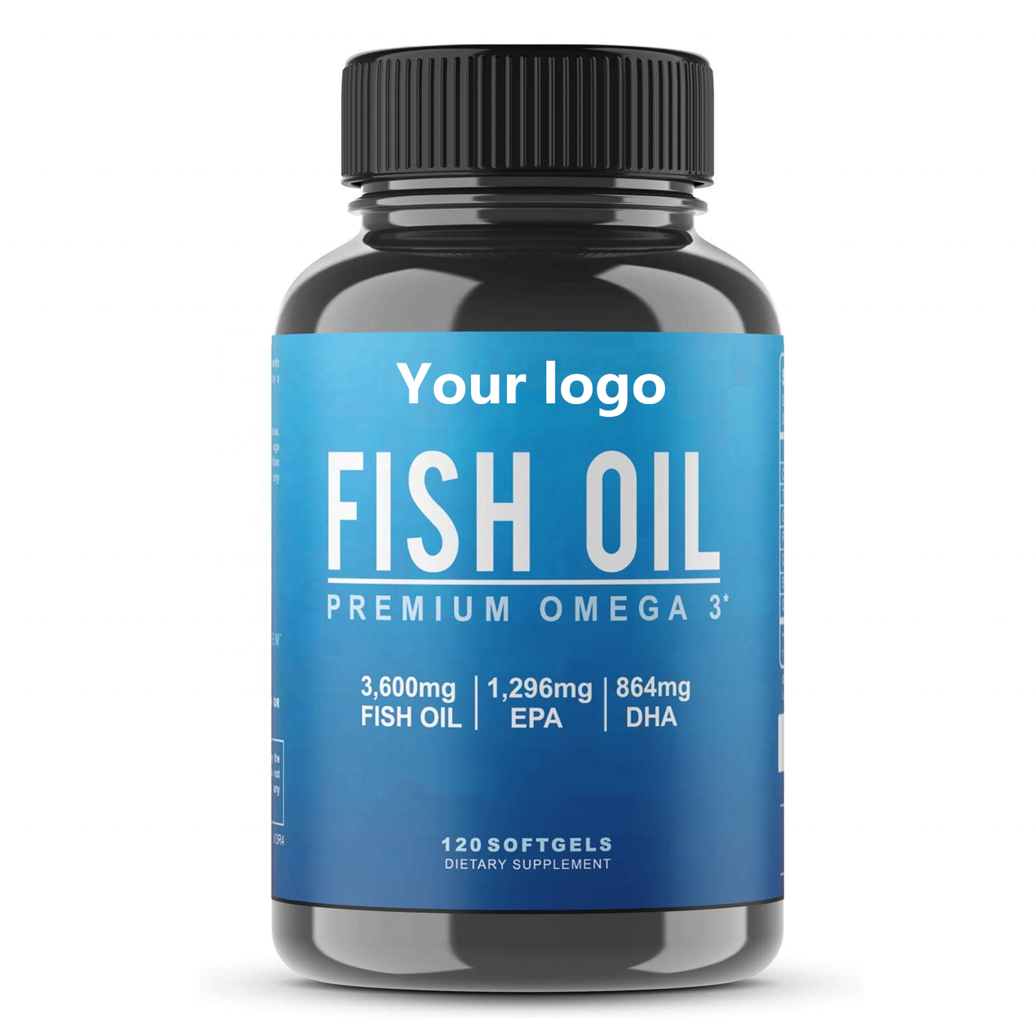 Private Label Salmon Oil Capsules Salmon Oil Pills Deep Sea Fish Oil with Omega 3